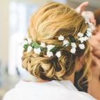 Wedding Flower Crown Handmade