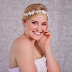 Wedding White Lace Flower Hairpiece