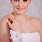 White Flower Wrist Corsage
