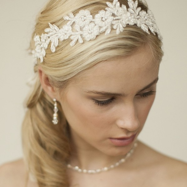 Bridal Lace Headband