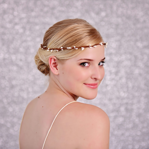 bridal pip berry hair crown
