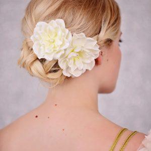 Bridal Flower Hair Clips