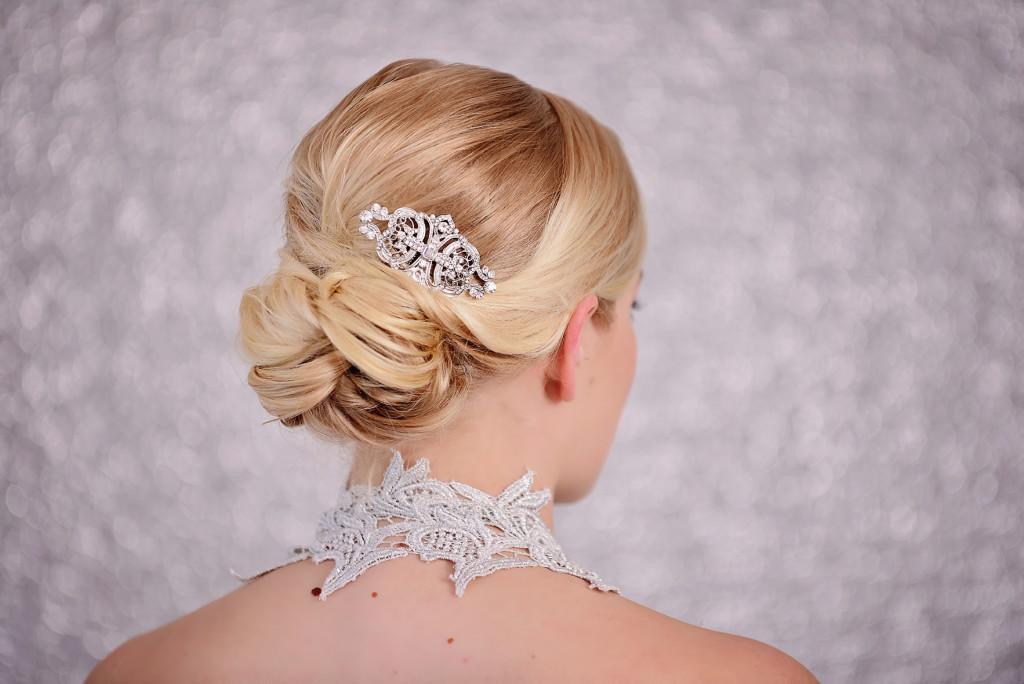 Art Deco Bridal Hair Comb Bridal Hair Accessories