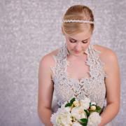 Bridal Headband, crystals and Pearls