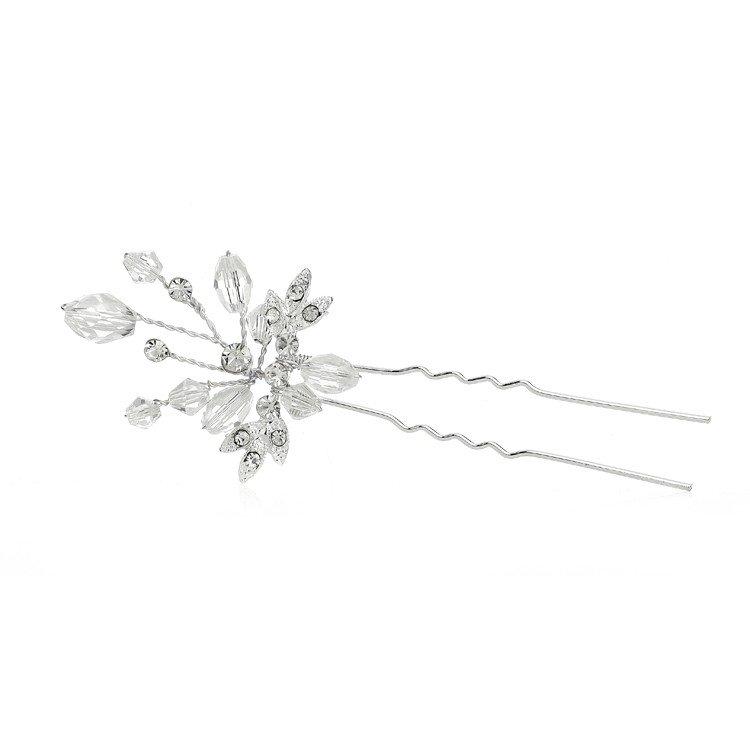 Sparkling Crystal Wedding Hair Pin