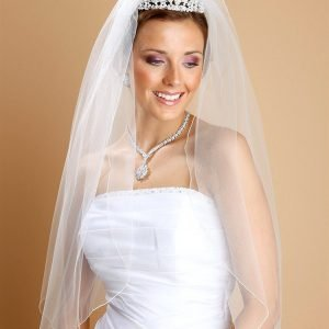 Bridal Veil Pencil Edging , white