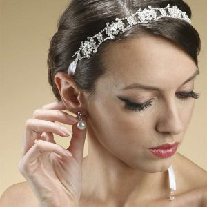 Bridal Crystal Swarovski Headband