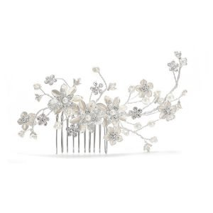Pearl and Crstal Hair Comb