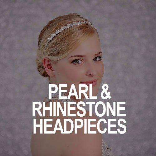 Pearl & Rhinestone Headpieces
