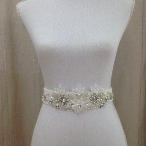 Ivory Wedding Dress Sash