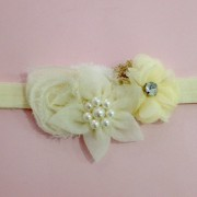 Ivory Flower Garter, Wedding