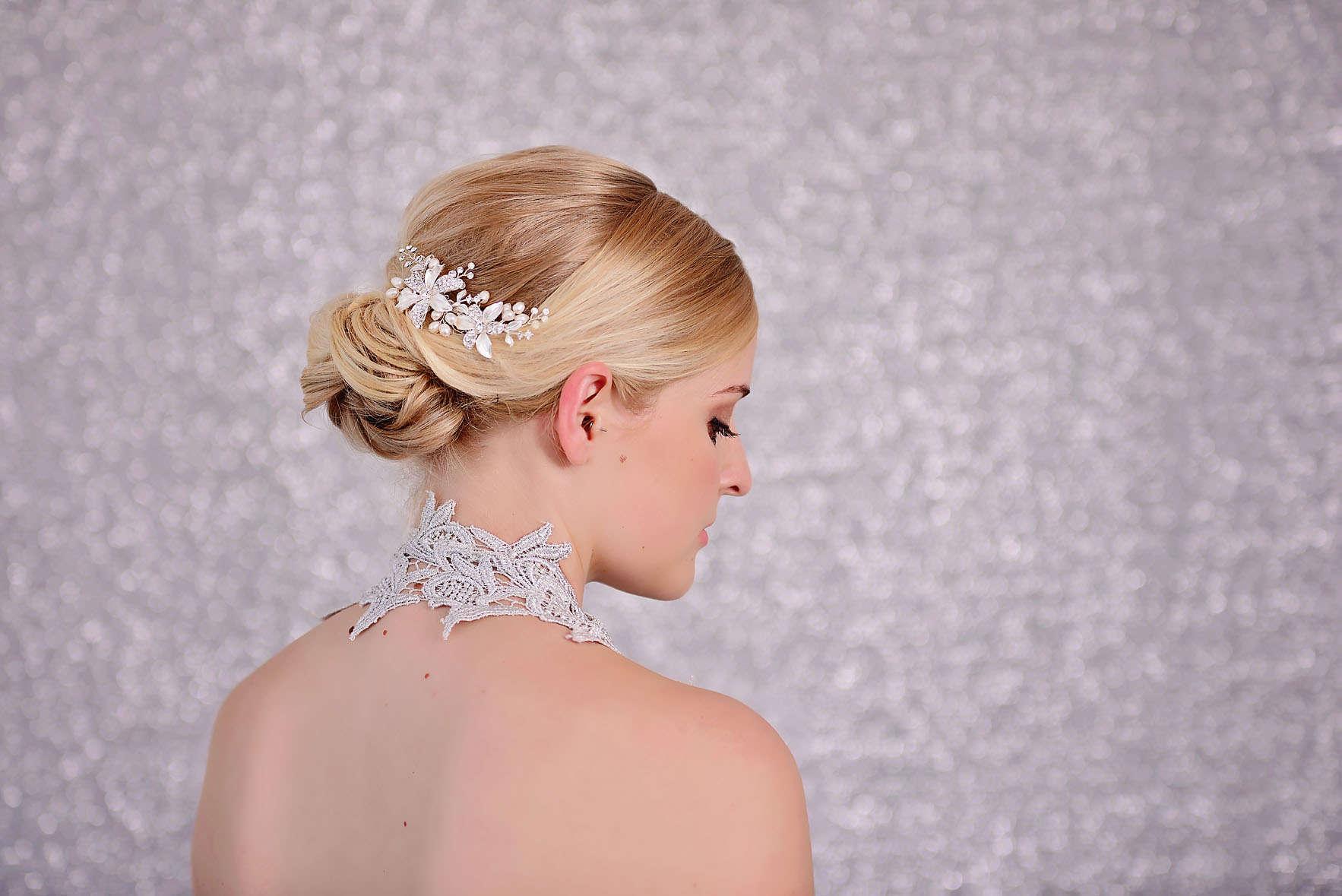Wedding Pearrl Hair Comb