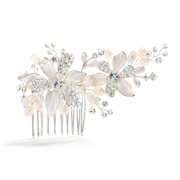 Wedding Peark Hair Comb