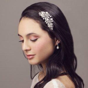 Pearl & Crystal Bridal Hair comb