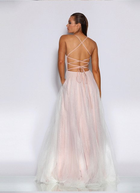 JX2022 Pink Jadore Dress