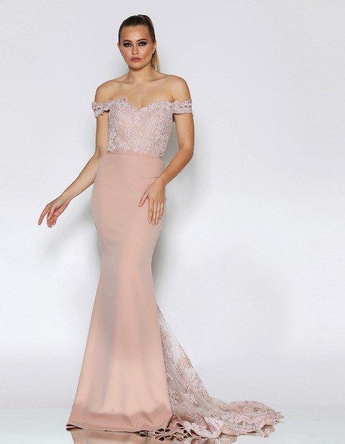 J8033 Pink Jadore Dress