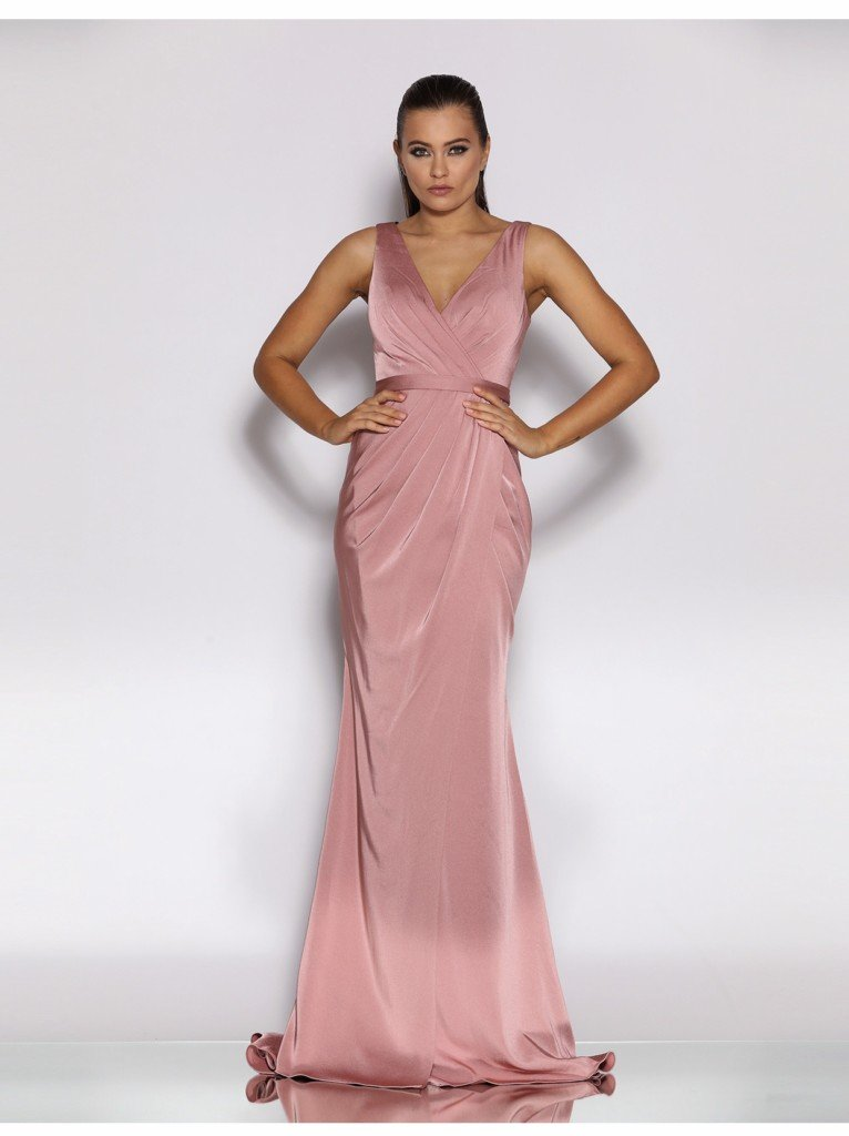 JX2039 Jadore Dress Antique Pink