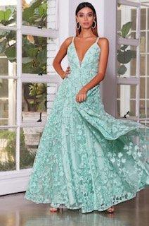 Jx4064 Jadore Sage Formal Dress