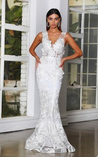 JX4063 Ivory Wedding
